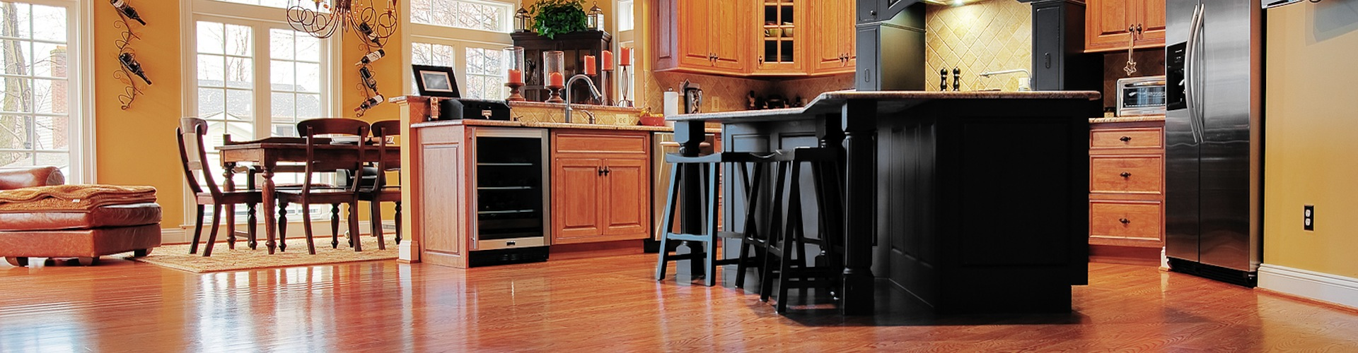 Hardwood Flooring In The Kitchen Kitchen Flooring Mt Prospect Duncan Flooring Specialist