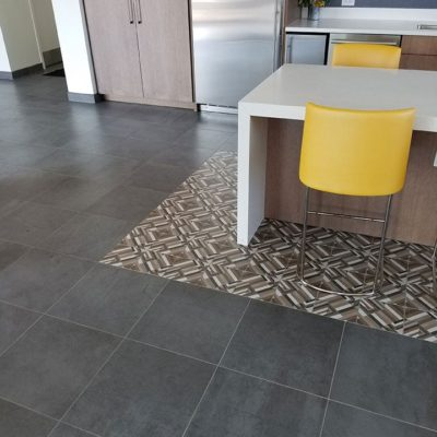 Close Up Of Kitchen Tile Floors