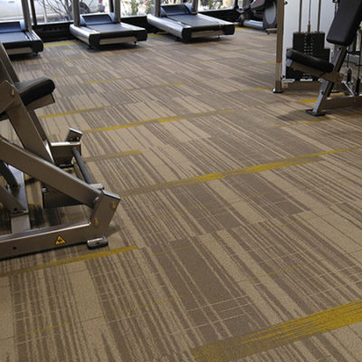 Gym Carpet Flooring Built by DUNCAN for Commercial Project