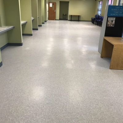 Duncan Flooring Commercial Projects At Social Security Office