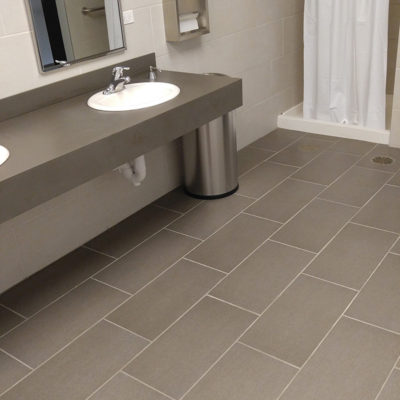 newly-remodeled-grey-tile-bathroom